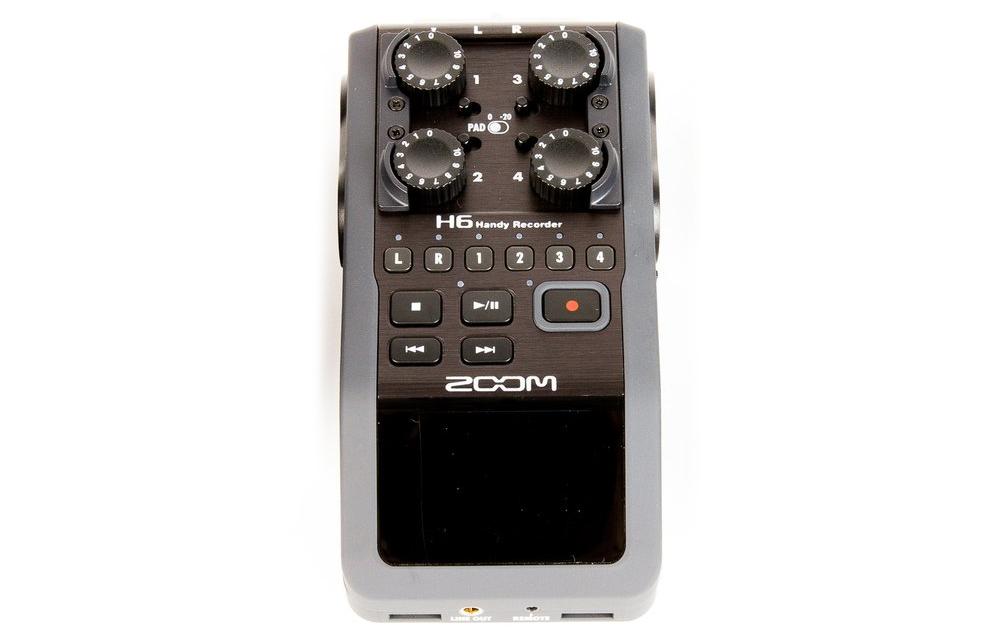 Rent a Zoom H6 Handy Recorder at LensProToGo com